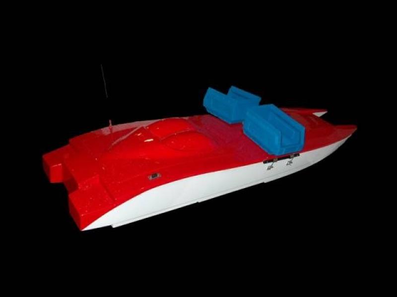 Радио-управляема лодка за риболов by Квалитет Спорт